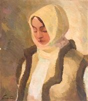 Woman from Bucovina by Francisc Sirato