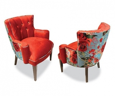 Red Rose Chair by Haut House | chairs