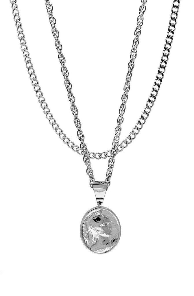 Mister  Gladiator Necklace - Chrome