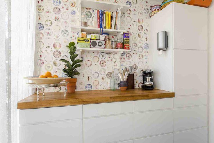 Keuken behang studio ditte