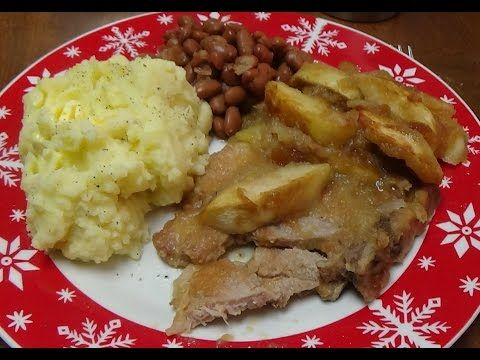 Easiest & Best Baked Pork Chops and Apples You Can Make For Your Family - YouTube