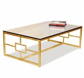 Somrig Cocktail Table · Gold LeafCoffee Table OttomanRound ...