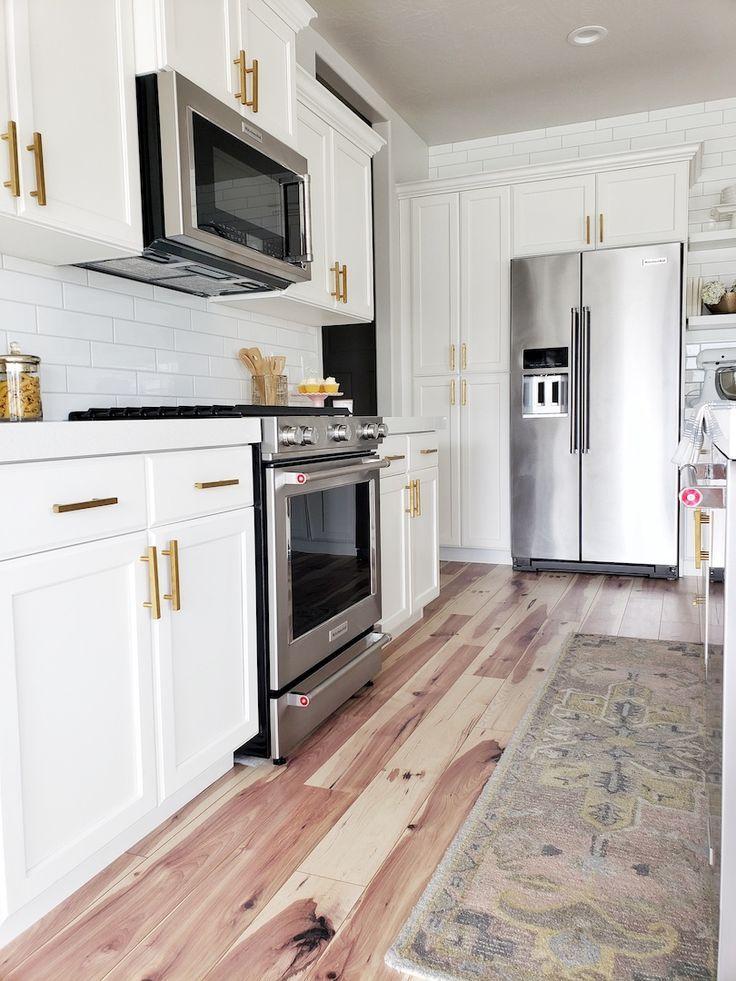 Kitchen Update Appliance Edition White Lane Decor White Subway Tile Kitchen Kitchen Aid Appliances Kitchen Remodel