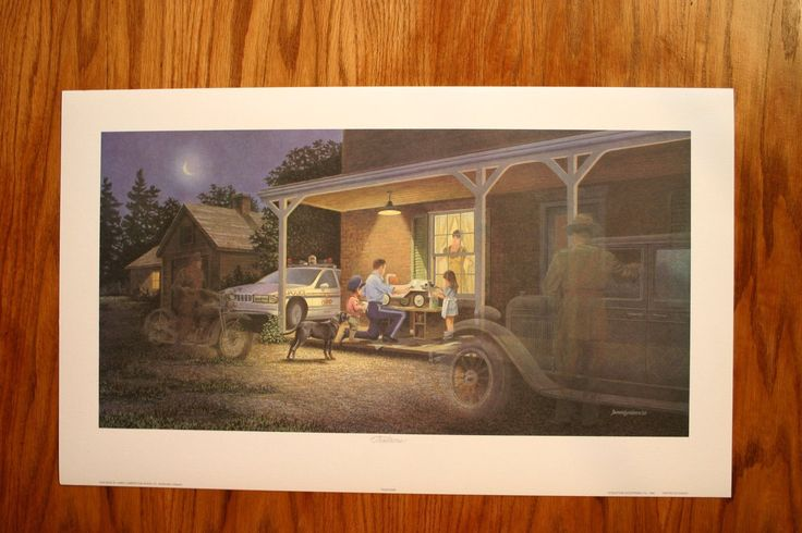 Traditions James Lumbers Open Collectors Edition Print Police OPP | eBay