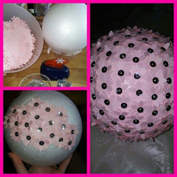 Wedding flowerball
