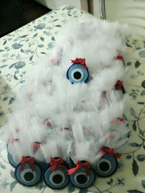 Baby Shower gifts  (devil eye with Lavender )