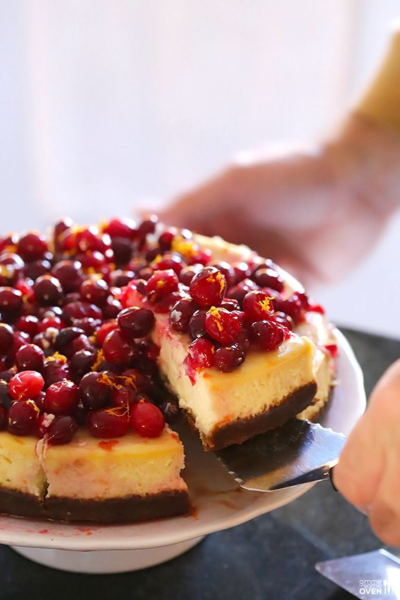 cranberries orange cranberry cheesecake chocolate orange cheesecake ...