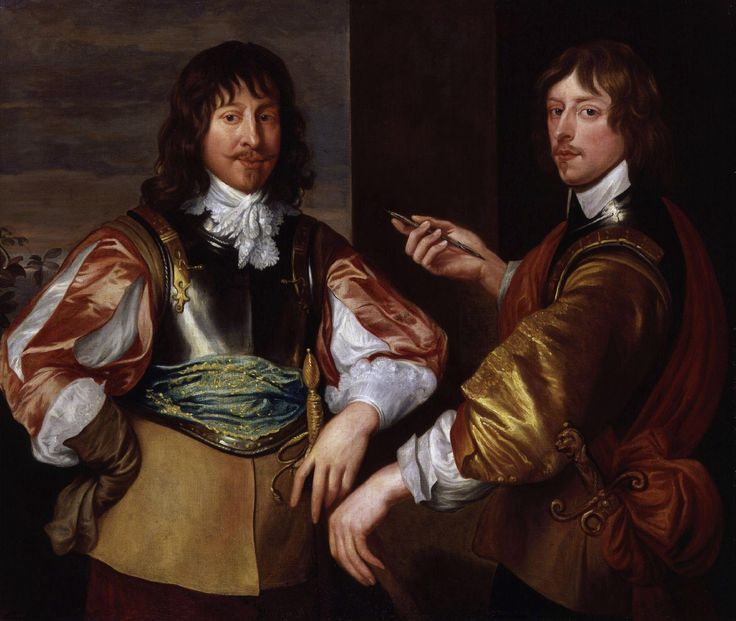 Anthony van Dyck Mountjoy Blount, 1st Earl of Newport, and George, Lord Goring c.1639 Oil on canvas 1283 x 1511 mm Petworth House, The Egremont Collection (acquired in lieu of tax by H.M. Treasury in 1957 and subsequently transferred to The National Trust)