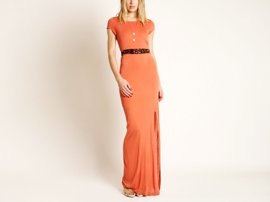 Akiko Belted Maxi Dress from Molly Sims: Patricia Velasquez, Fashions For Sh, Akiko Belts, Clothing, Colors, Belts Maxi, Fashion Closet, Molly Sims, Orange Maxi Dresses