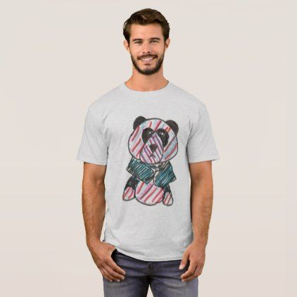 original art of an LGBT PANDA T-Shirt - diy cyo personalize design idea new special custom