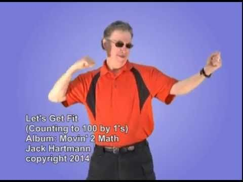 I love counting songs. In this great kids video, we count to 100 and exercise. This is a great math song to start your day with, as a brain break or use it during indoor recess. PE Teachers will love it too as it emphasizes physical education and aerobic exercise. www.jackhartmann.com