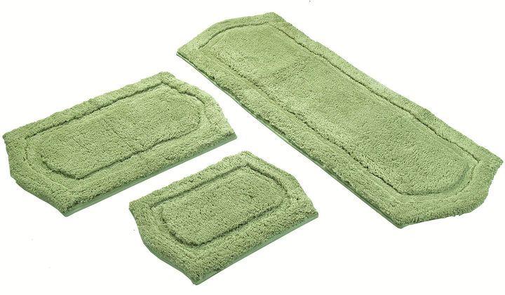 Asstd National Brand Chesapeake Merchandising Paradise 3-pc. Memory Foam Bath Rug Set