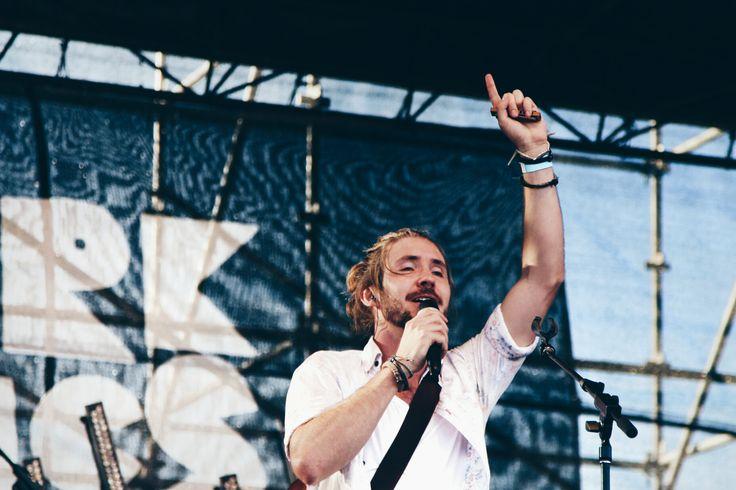 Jeremy Loops singing away at #ParkAcoustics