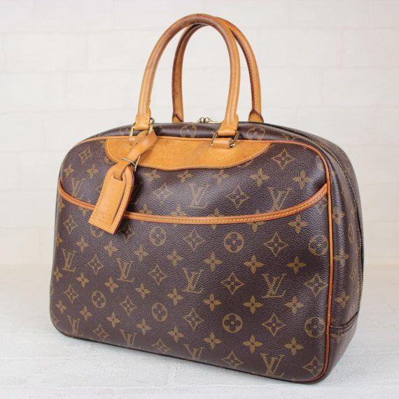 Lv Bag Monogram Large Deaville Purse Wallet By Kimberlystreasure 669 00 Louis Vuitton Priceslouis
