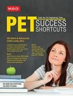Price of PET Success Shortcuts to crack JEE/Engineering exams book by MTG Editorial Board in English   9789384248017   pricehint.in