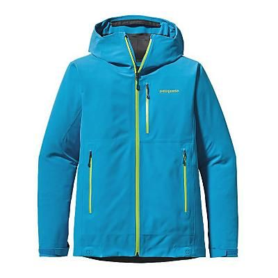Patagonia Mens KnifeRidge Jacket in Electron Blue. Stretchy 3-Layer Polartec, Power Shield, Pro Fabric package.