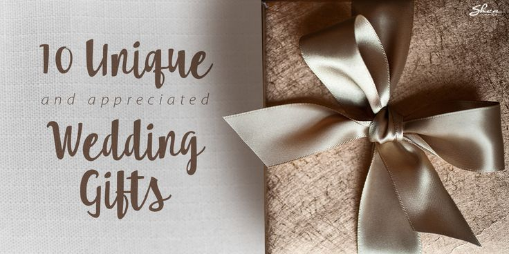 Wedding Gift Ideas For Couples: Unique Wedding Gifts The Happy Couple Will Actually Want