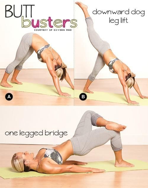 butt buster yoga moves