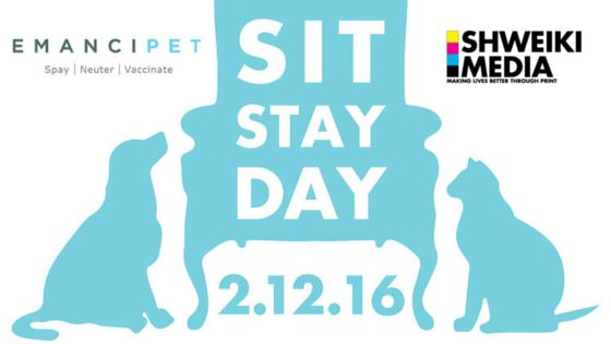 Shweiki  is excited to announce that they have again partnered with Emancipet to serve as a sponsor for the nonprofit's sixth annual Sit Stay Day fundraiser