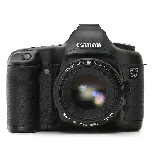 My newest weapon of choice: the Canon 6D.