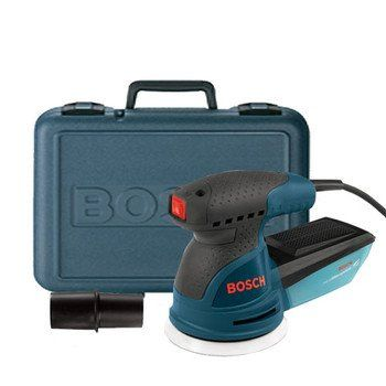 Special Offers - Factory-Reconditioned Bosch ROS20VSK-RT 120-Volt Variable-Speed Random-Orbit Sander Kit - In stock & Free Shipping. You can save more money! Check It (April 07 2016 at 09:59PM) >> http://aircompressorusa.net/factory-reconditioned-bosch-ros20vsk-rt-120-volt-variable-speed-random-orbit-sander-kit/