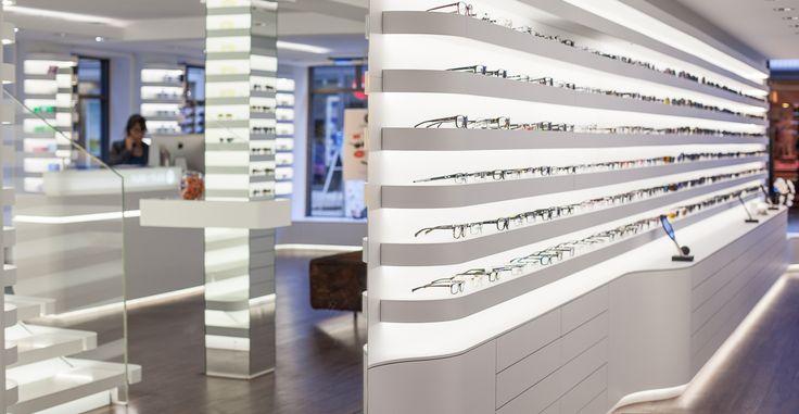 bela benedek-optical shop design