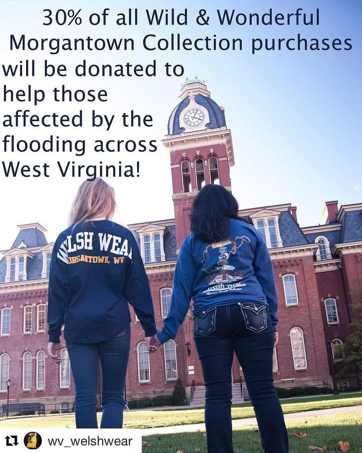 Please visit WelshWear.com and checkout the different ways you can help us help those affected by the flooding in WV! #Repost @wv_welshwear  Help @welsh_wear help those who have been affected by the floods across WV. You can chose to purchase a Wild & Wonderful Morgantown item or just select the option to donate to Dollars for Disaster WV Flood Relief Fund. #WVStrong #WelshWearLovesWV #wvu #DollarsForDisaster #wvflood2016 @westvirginiau @wvualumniassoc @wvuextension