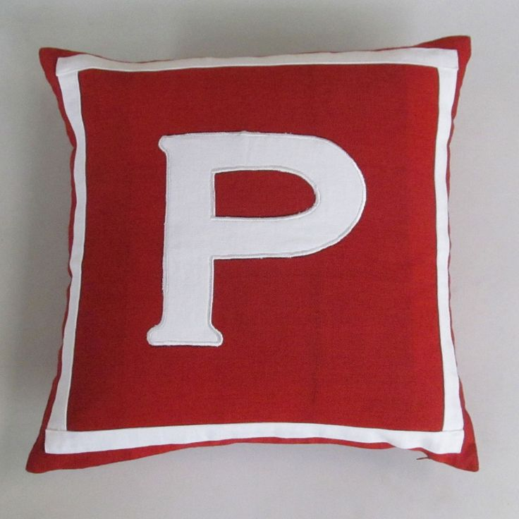 Decorative Initial Pillows : The 25+ best Initial pillow ideas on Pinterest Burlap pillows, Stenciled pillows and Letter pillow