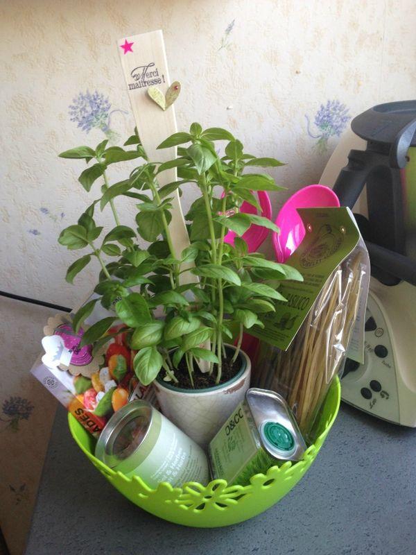 cadeaux maitresse ATSEM salade d'été