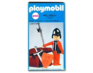 Playmobil 3334 Knight with trunk_Antex Argentina // Not available