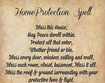 House blessing ideas