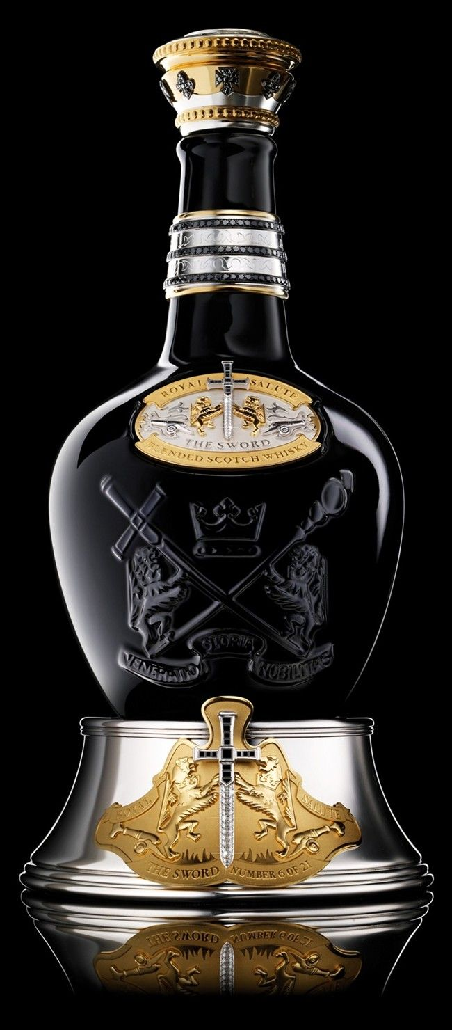 Scotch 45 years.Only 21 bottles produced. $200,000 IVET. Labor Of Love Royal Salute Tribute To Honor 3.