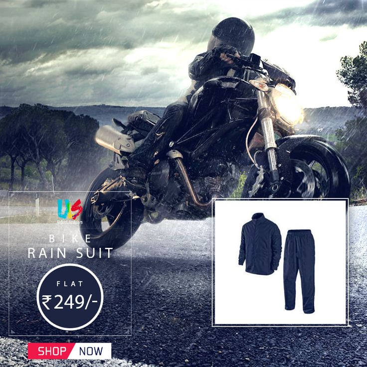 Heavy monsoon rain in Delhi (NCR) today. Don't worry we have solution for you, get rain suit on best price only on autofurnish.com. Its protect you from heavy rain and also protected your valuable watches and mobiles from wet. #rainsuit #bikebodycover #autofurnish #automobile #bikeaccessories #autoaccessories