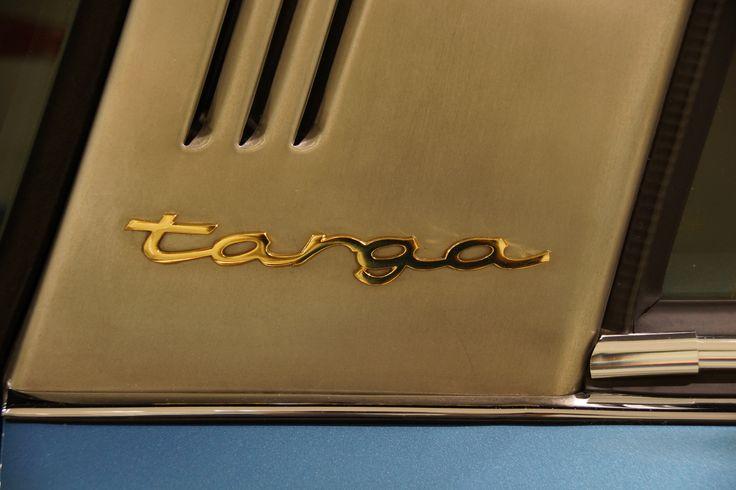 Porsche Targa Sign