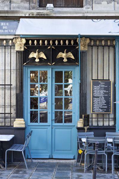 cafe, marais district, paris