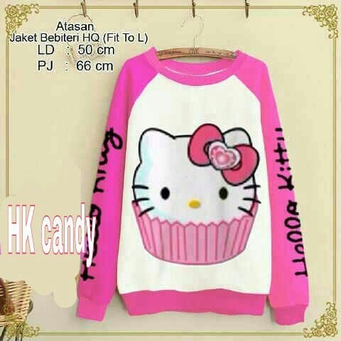 #grosirsweater HK CANDY,  bahan baby terry harga 47K www.ramailancar.com www.facebook.com/tokobajurajutmurah 0857 2212 6318