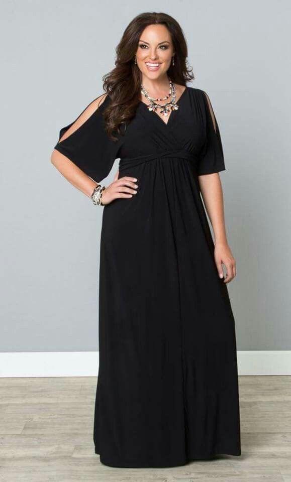 Vestido negro xxl