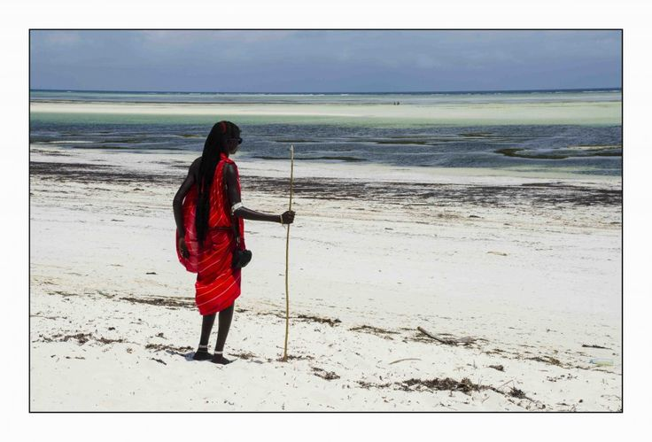 Maasai Morani by Simon Smith on www.digitalgallery.co.za
