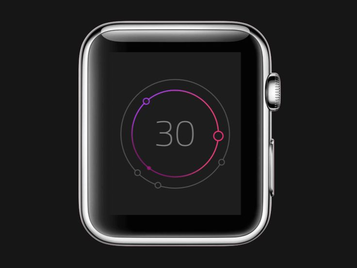 Watch concept - Events / Weather by Jona Dinges