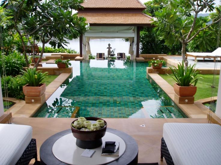 Banyan Tree, Phuket, Thailand; Honeymoon stop #1