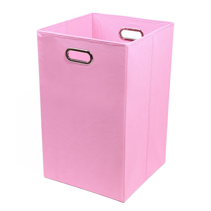 Modern Littles 13.75 in. Rose Pink Storage Bin - ROSLAUN202