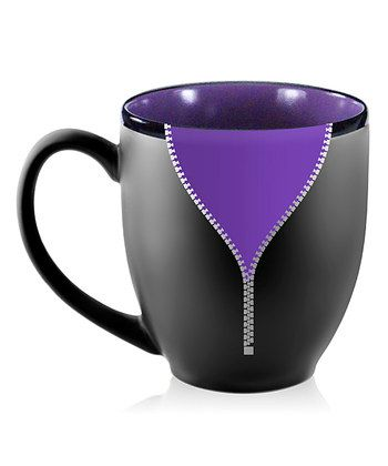 Purple Zipper Mug for chari malformation