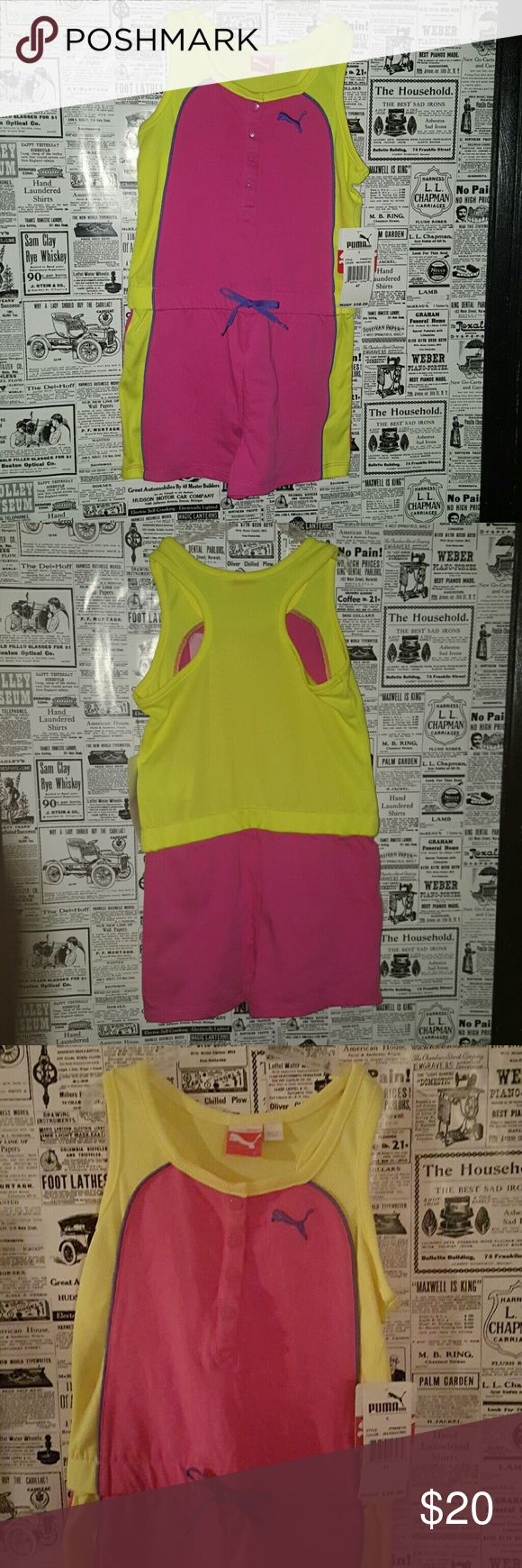 NEW Puma sport very cute FINAL PRICE‼️ Lovely Puma one piece  for girls 4T 21men One Pieces