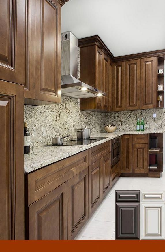 Maple Cabinets With Light Granite Home Decor In 2019 Kitchen
