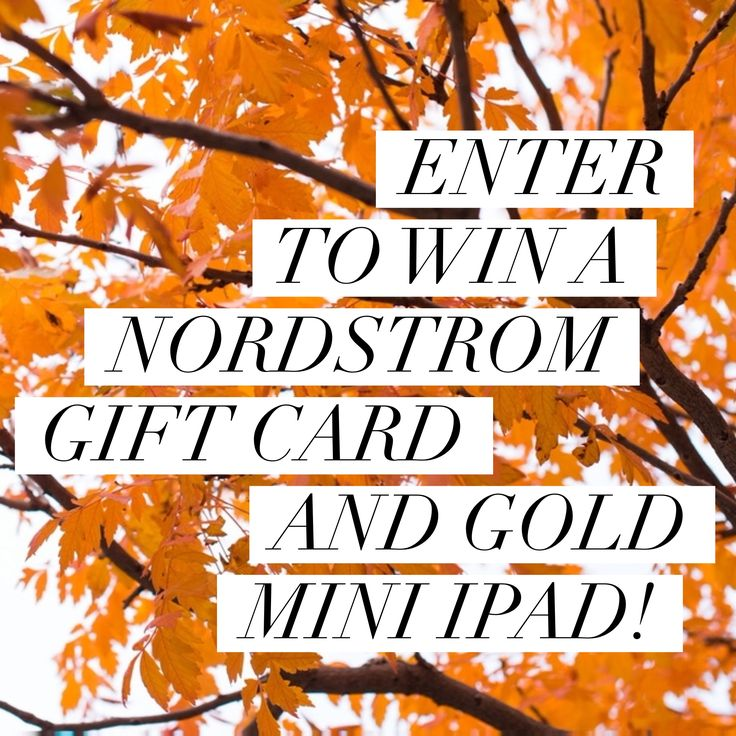 500 nordstrom gift card apple gold mini ipad giveaway
