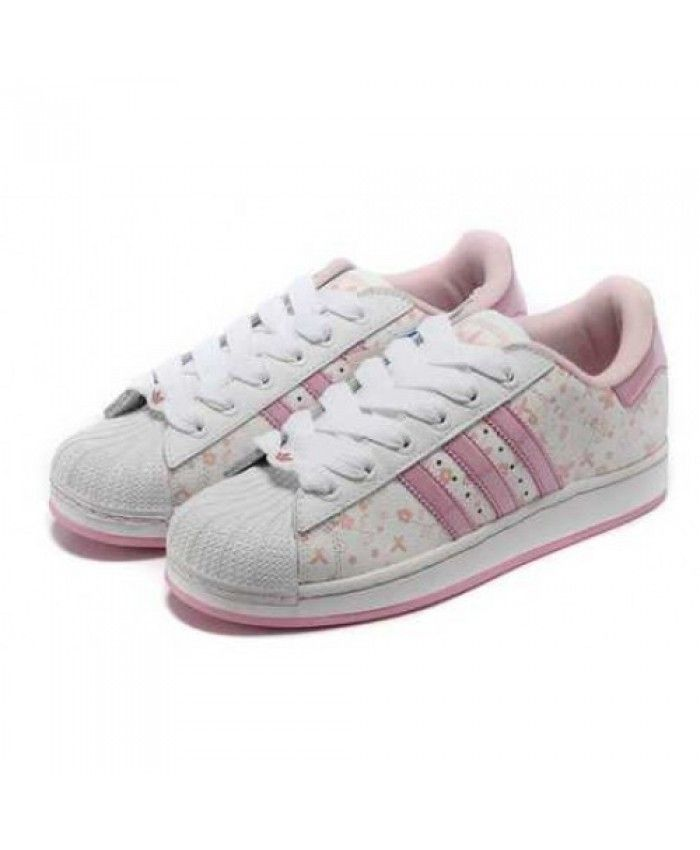 reputable site 977b3 f6be7 Adidas Superstar Pink Flower Traniers. Adidas Superstar Pink Flower  Traniers Zapatos ...