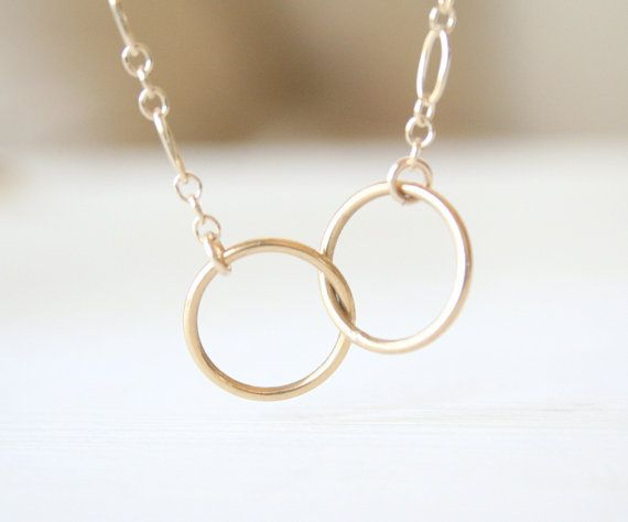 Everlasting Ring Necklace