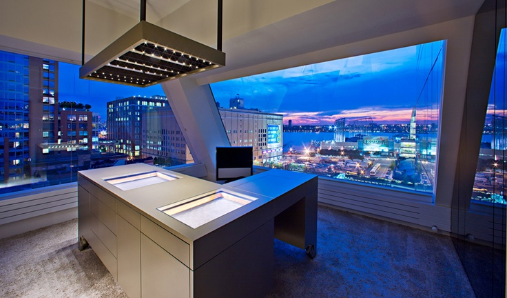 Rooftop apartment situated between the #Meatpacking districts, in New York City | Designed by Innocad Architektur - www.innocad.at | see more @ ek-mag.com #architecture #design #interior_design #nyc #ek_magazine