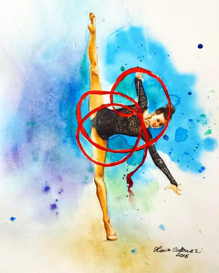 хорош картинки рисунки гимнастки поделитесь опытом девочки
