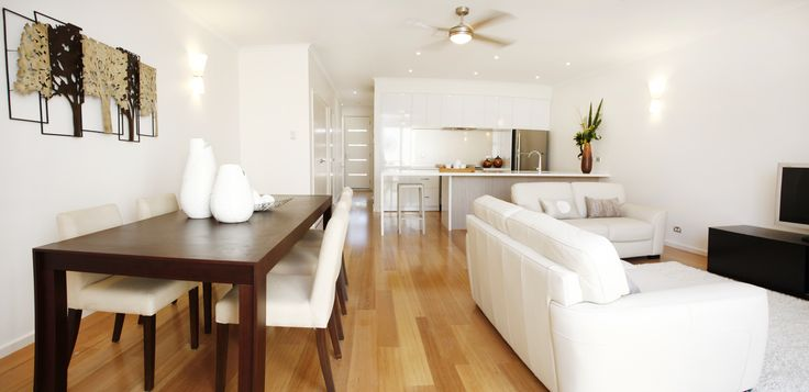 Aria Display Home at Lightsview - Living Area  http://sa.rivergumhomes.com.au/home-designs/aria
